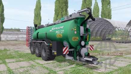Samson PG II 27 Göma for Farming Simulator 2017