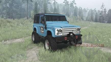 Land Rover Defender 90 Station Wagon for MudRunner