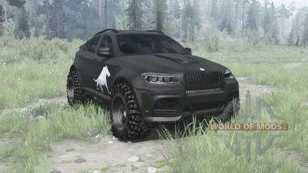 BMW X6 M (E71) BORZ for MudRunner