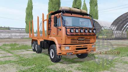 KAMAZ 43118 timber for Farming Simulator 2017