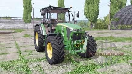 John Deere 5085M loader mounting for Farming Simulator 2017