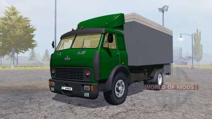 MAZ 500 container green for Farming Simulator 2013