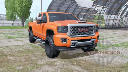 GMC Sierra HD Denali Crew Cab (GMTK2) for Farming Simulator 2017
