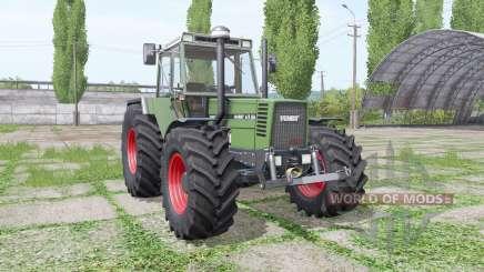 Fendt Favorit 615 LSA Turbomatik E wide tyre for Farming Simulator 2017