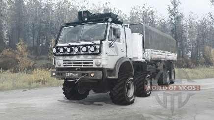 KamAZ 6350 for MudRunner