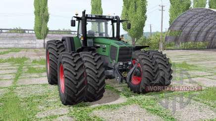 Fendt Favorit 816 Turboshift double wheels for Farming Simulator 2017