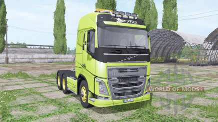Volvo FH16 750 interactive control for Farming Simulator 2017