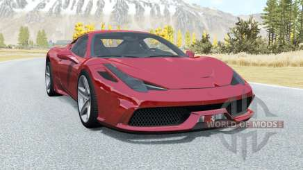 Ferrari 458 Speciale for BeamNG Drive