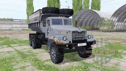 KrAZ 256БС v3.1 for Farming Simulator 2017