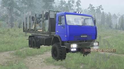 KamAZ 65115 for MudRunner