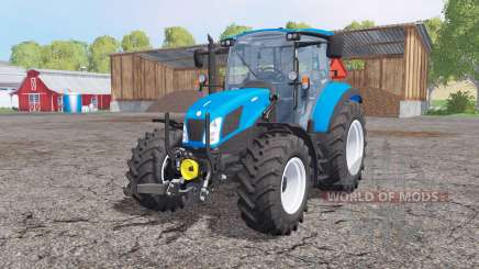 New Holland T5.115 front loader for Farming Simulator 2015