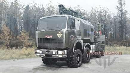 Volat MZKT 7401 for MudRunner