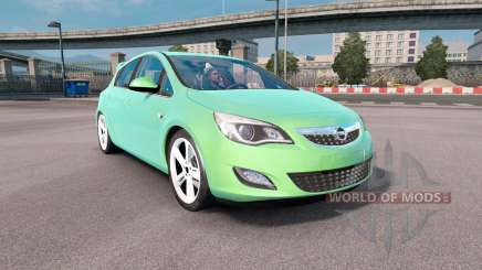 Opel Astra (J) 2010 for Euro Truck Simulator 2