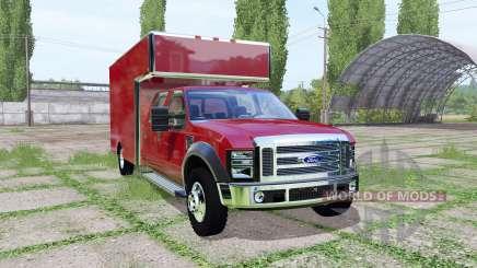 Ford F-450 Super Duty utility truck for Farming Simulator 2017
