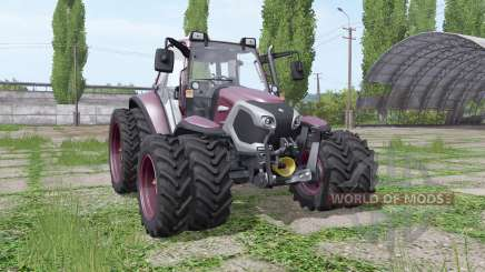 Lindner Lintrac 90 double wheels for Farming Simulator 2017