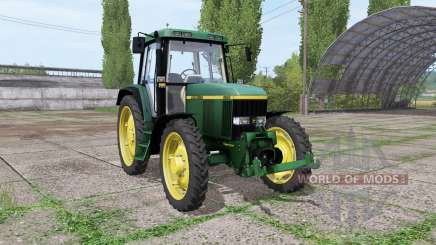 John Deere 6810 narrow tires for Farming Simulator 2017