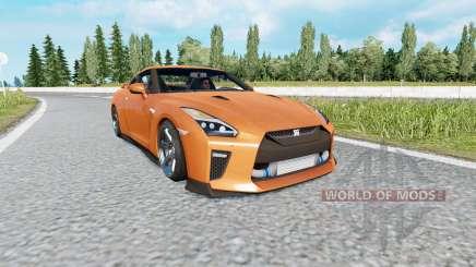 Nissan GT-R (R35) 2017 v2.0 for Euro Truck Simulator 2