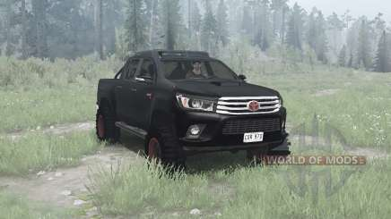 Toyota Hilux 4x4 Double Cab 2016 for MudRunner