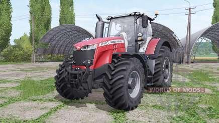 Massey Ferguson 8740 S Michelin v2.0 for Farming Simulator 2017