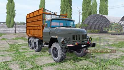 ZIL 131 silos for Farming Simulator 2017