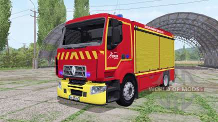 Renault D Sapeurs-Pompiers for Farming Simulator 2017