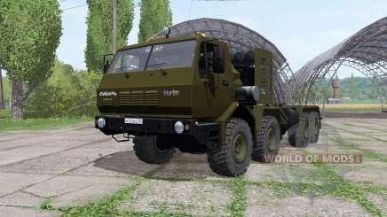 KrAZ 7Э6316 Siberia v1.1 for Farming Simulator 2017