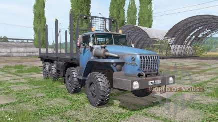 Ural 6614 v1.1 for Farming Simulator 2017