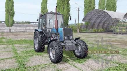 Belarus MTZ 1025 blue for Farming Simulator 2017