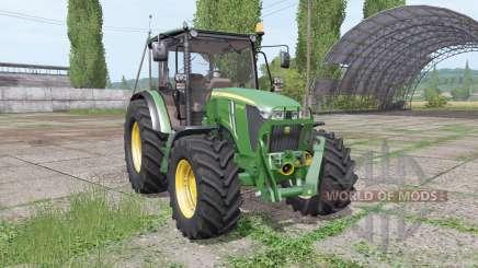 John Deere 5075M loader mounting for Farming Simulator 2017