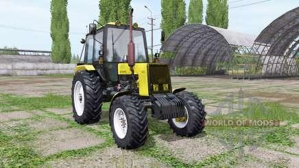 Belarus MTZ 1025 yellow for Farming Simulator 2017