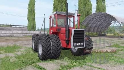 Massey Ferguson 1200 twin wheels for Farming Simulator 2017