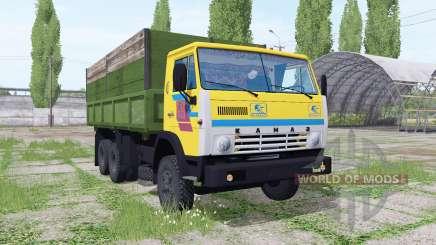 KamAZ 55102 6x6 for Farming Simulator 2017
