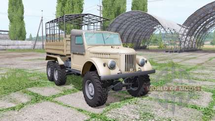 GAZ 69 triaxial for Farming Simulator 2017