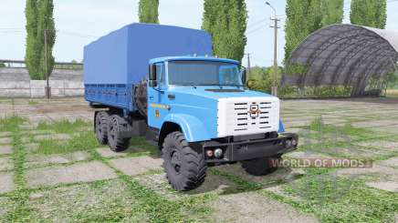 ZIL 4334 6x6 v1.1 for Farming Simulator 2017