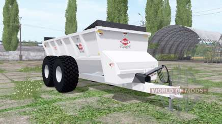 Kuhn Knight SLC 141 ProTwin Slinger for Farming Simulator 2017