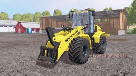 New Holland W170C v1.1 for Farming Simulator 2015
