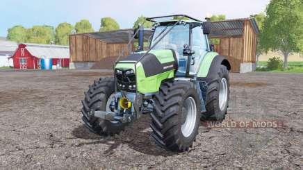Deutz-Fahr Agrotron 7250 TTV forest for Farming Simulator 2015