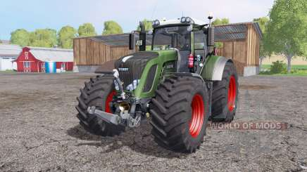 Fendt 936 Vario interactive control for Farming Simulator 2015
