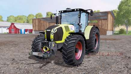 CLAAS Arion 650 twin wheels for Farming Simulator 2015