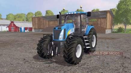 New Holland T8020 4x4 for Farming Simulator 2015