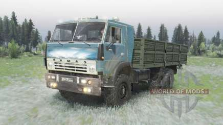 KamAZ 5320 6x6 for Spin Tires