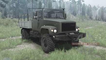 GAZ 33081 the Huntsman-II for MudRunner
