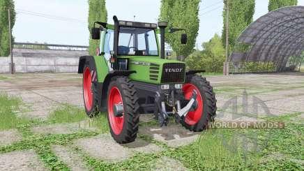 Fendt Favorit 515C Turbomatic narrow wheels for Farming Simulator 2017