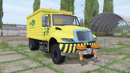 International DuraStar chipper truck for Farming Simulator 2017