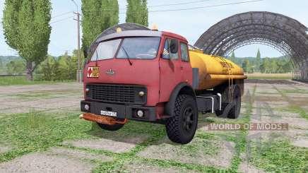 MAZ-500 tanker v2.2 for Farming Simulator 2017