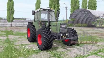 Fendt Favorit 611 LSA Turbomatik E dynamic hose for Farming Simulator 2017