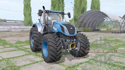 New Holland T7.315 blue for Farming Simulator 2017