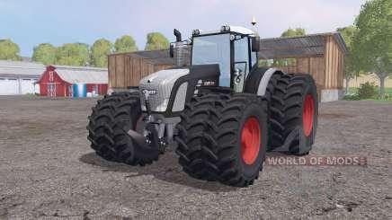 Fendt 936 Vario SCR twin wheels for Farming Simulator 2015