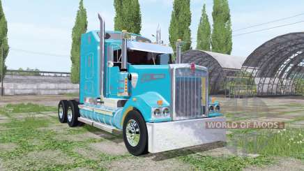 Kenworth T908 Sleeper Cab for Farming Simulator 2017
