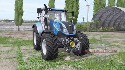 New Holland T6.140 rundumleuchte for Farming Simulator 2017